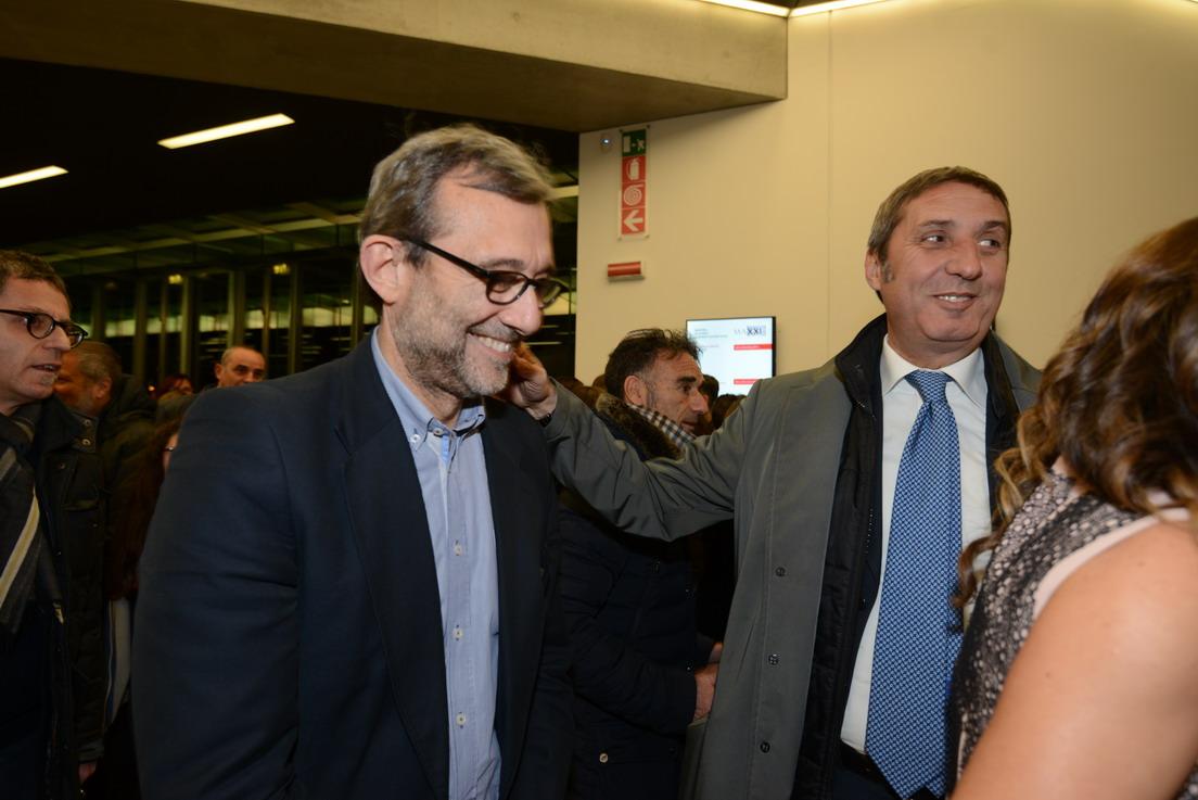 Roberto Giachetti e Gianmarco Chiocci