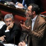 Massimo D'Alema e Roberto Giachetti (c) Imagoeconomica