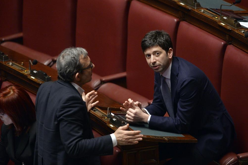 Roberto Giachetti e Roberto Speranza