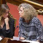 Maria Elena Boschi e Monica Cirinna