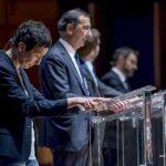 Antonio Iannetta, Pierfrancesco Majorino, Giuseppe Sala e Francesca Balzani
