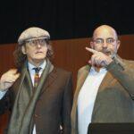 Gianroberto Casaleggio e Vito Crimi