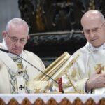 Papa Francesco e Tarcisio Bertone