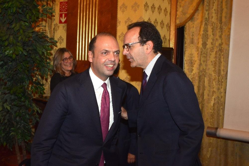 Angelino Alfano e Stefano Parisi