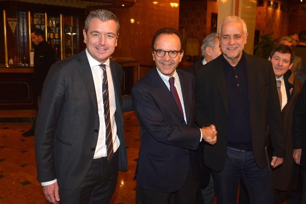 Stefano Parisi, Alessandro Colucci e Roberto Formigoni