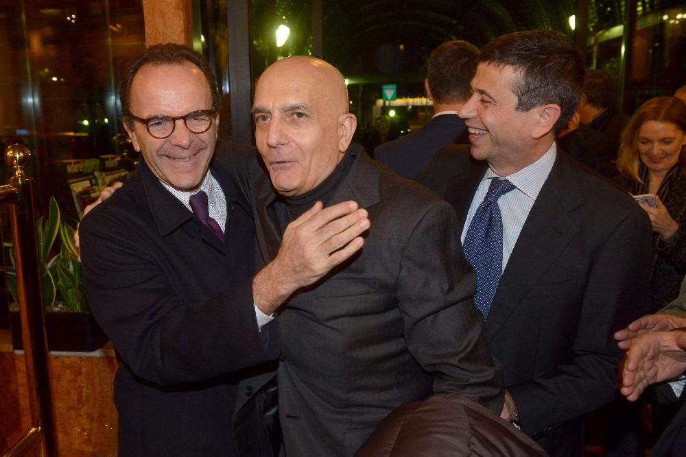 Stefano Parisi, Maurizio Lupi e Gabriele Albertini