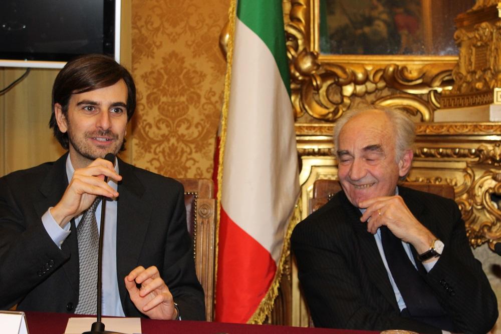 Paolo Gambi ed Ettore Gotti Tedeschi
