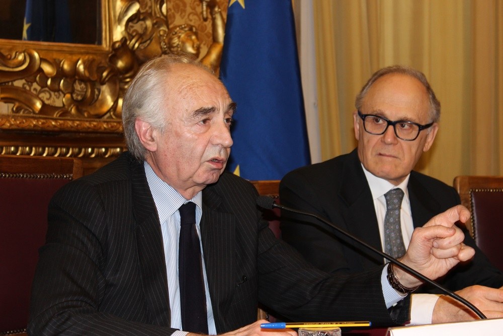 Ettore Gotti Tedeschi e Gian Luigi Gigli