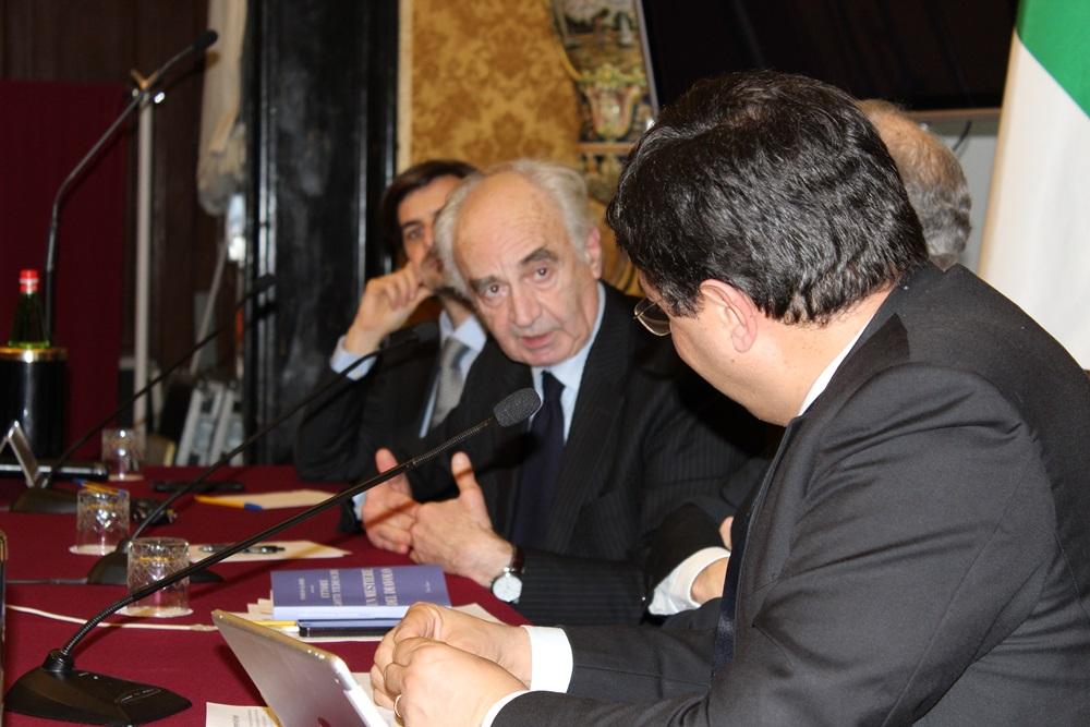 Paolo Gambi, Ettore Gotti Tedeschi, Gian Luigi Gigli e Luciano Ghelfi