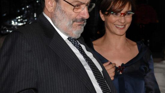 Umberto Eco e Laura Morante