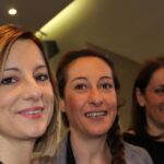 Roberta Lombardi, Paola Taverna e Carla Ruocco