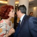 Valeria Fedeli e Giovanni Floris
