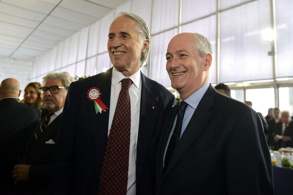 Giovanni Malagò e Franco Gabrielli