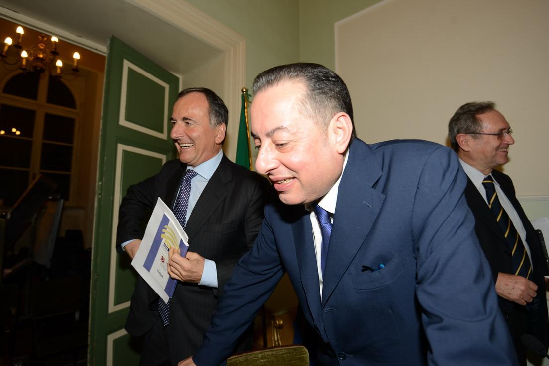 Franco Frattini e Gianni Pittella