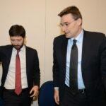 Roberto Speranza e Roberto Morassut