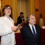 Renata Polverini e Renato Brunetta