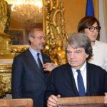 Carmelo Barbagallo, Renato Brunetta e Renata Polverini