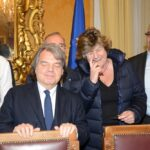 Renata Polverini, Renato Brunetta e Susanna Camusso
