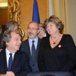 Renato Brunetta, Carmelo Barbagallo  e Susanna Camusso