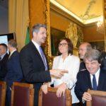 Simone Baldelli, Renata Polverini e Renato Brunetta