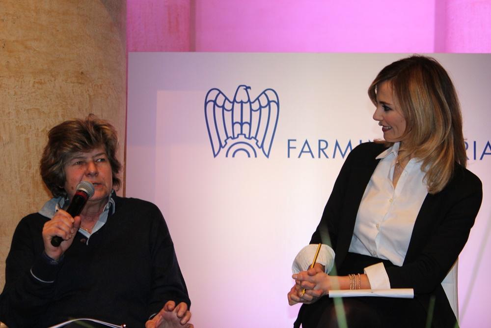 Susanna Camusso e Francesca Fialdini Cgil Farmindustria