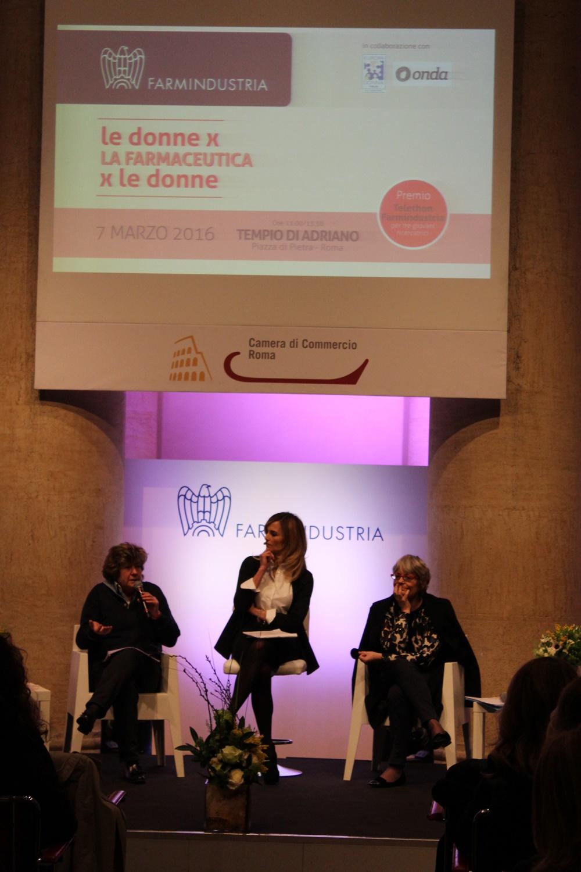 Susanna Camusso, Francesca Fialdini e Annamaria Furlan