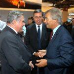 Sergio Pininfarina, Andrea Pininfarina e Vincent Bolloré