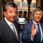 Tarak Ben Ammar e Vincent Bolloré