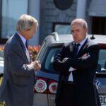 Vincent Bolloré e Lorenzo Pellicioli