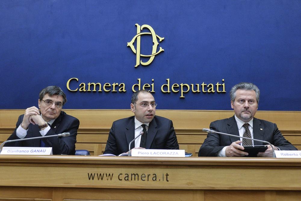 Gianfranco Ganau (Sardegna), Piero Lacorazza (Molise), Roberto Ciambetti (Veneto)
