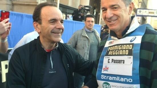 Stefano Parisi e Corrado Passera