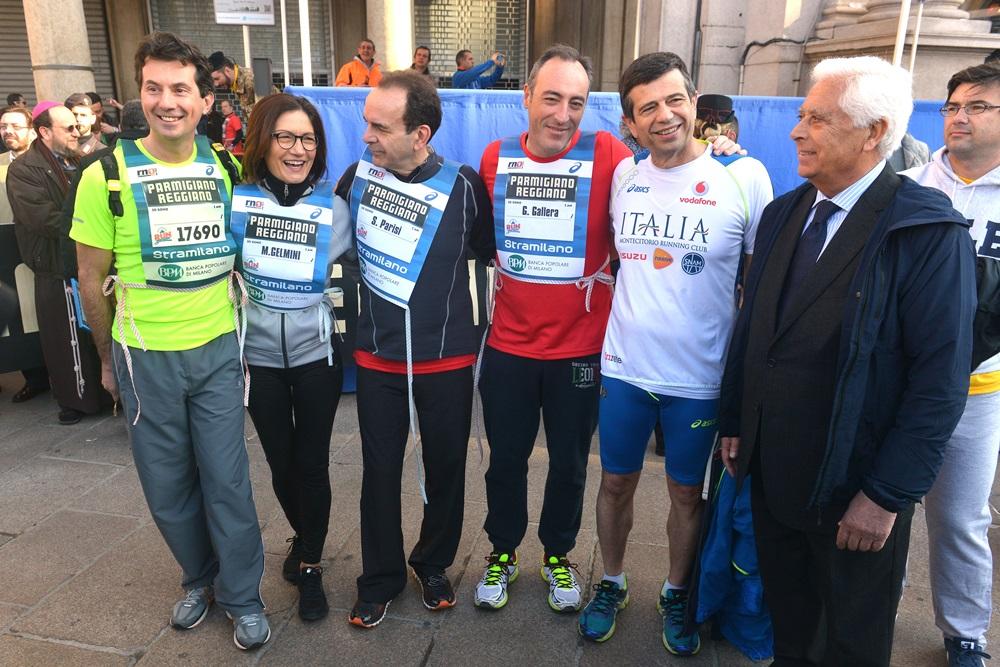 Andrea Mascaretti, Maria Stella Gelmini, Stefano Parisi, Maurizio Lupi e Michele Mesto