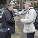 Rocco Palombella e Maurizio Landini