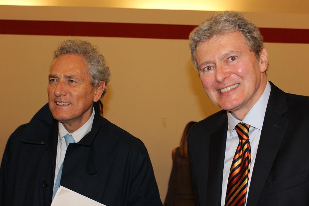 Francesco Rutelli e Sergio Talamo