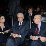 Anna Maria Scarinzi, Sergio Mattarella e Ciriaco De Mita