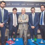 Antonio Vella, Pierangelo Fabiano, Francesco Starace, Paolo Boccardelli e Mario Vitale