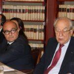 Gennaro Sangiuliano e Corrado Sforza Fogliani