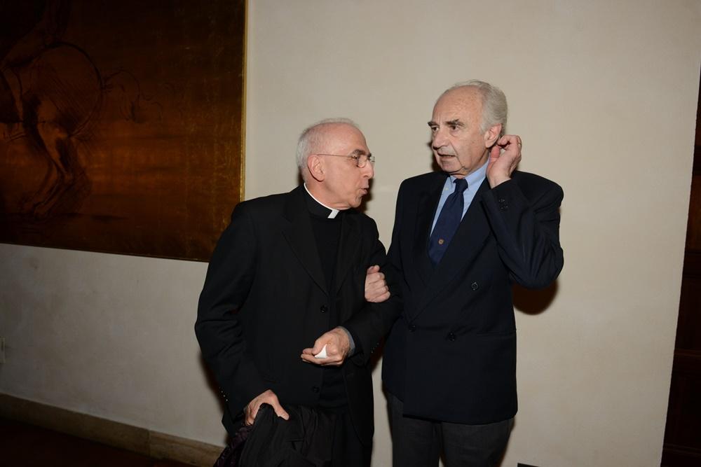 Nicola Bux ed Ettore Gotti Tedeschi