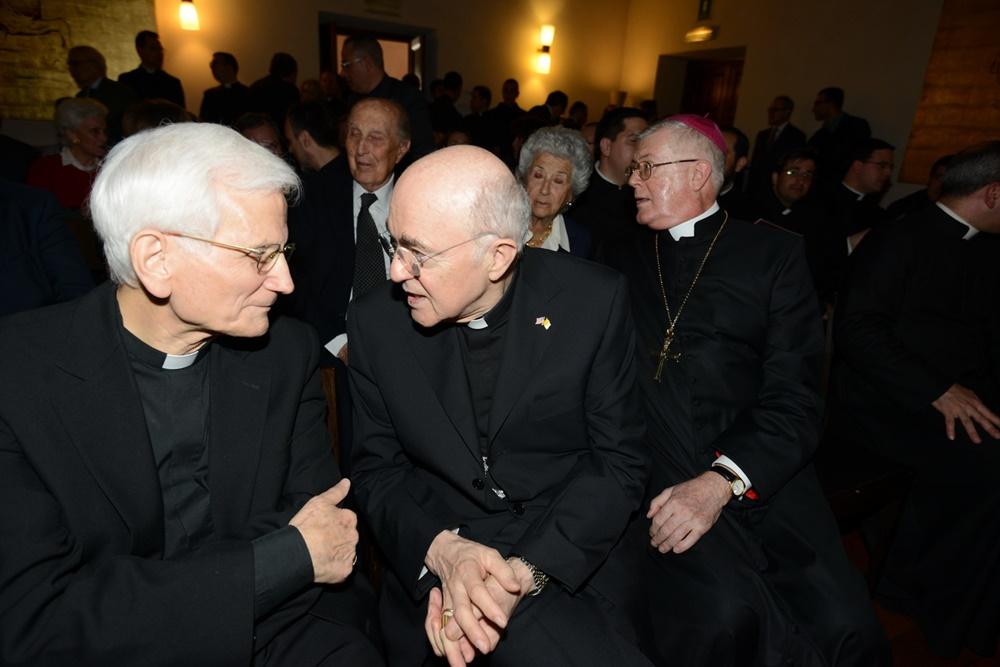 Raffaele Farina e Guido Pozzo