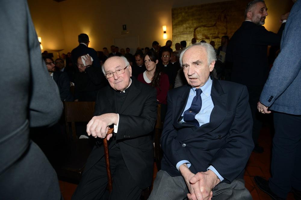 Walter Brandmüller ed Ettore Gotti Tedeschi