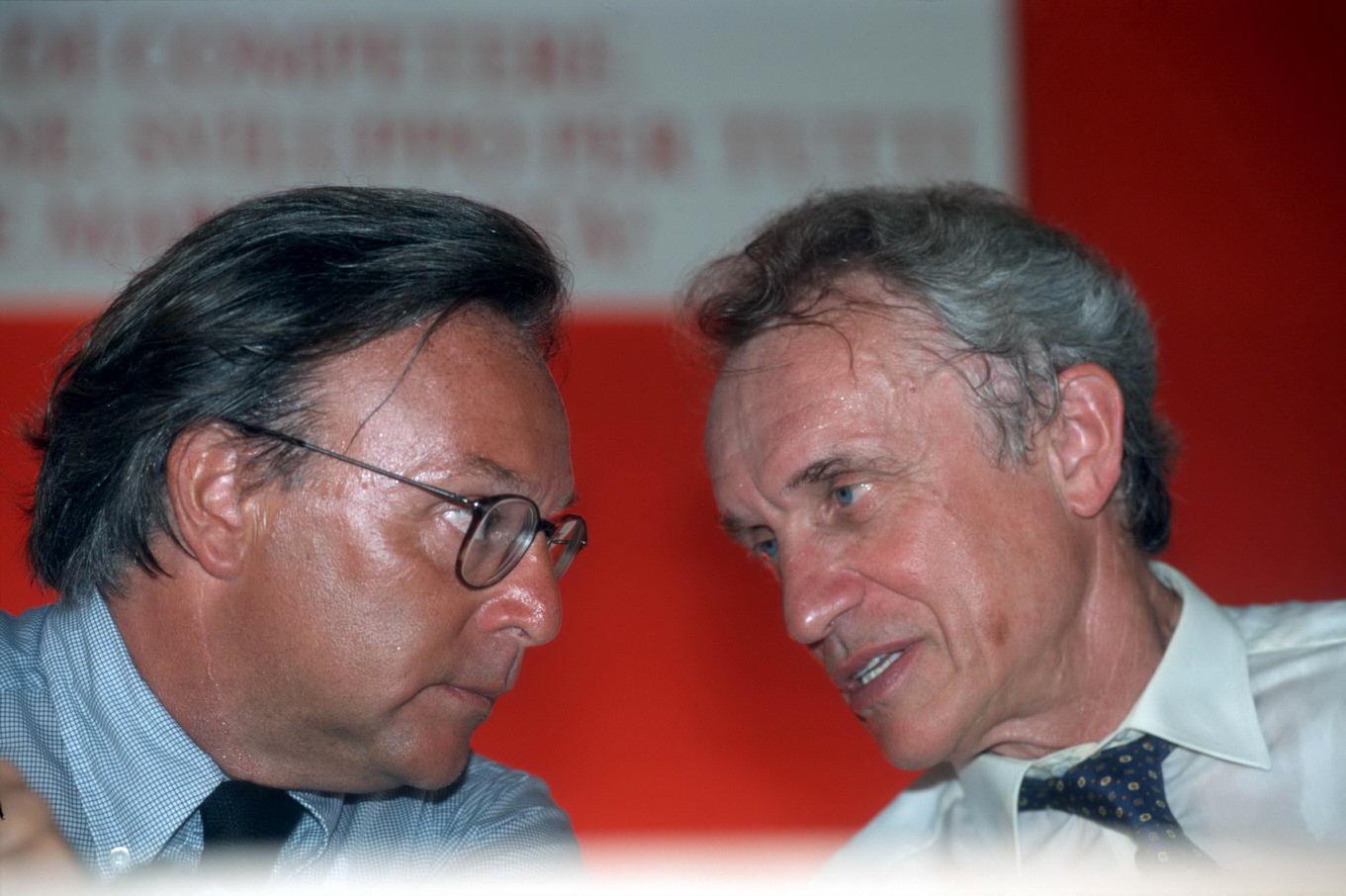 Diego Della Valle e Giovanni Bazoli