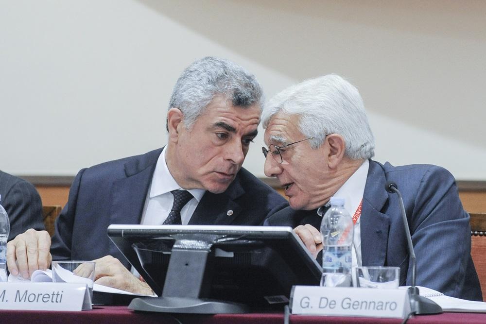 Mauro Moretti e Gianni De Gennaro