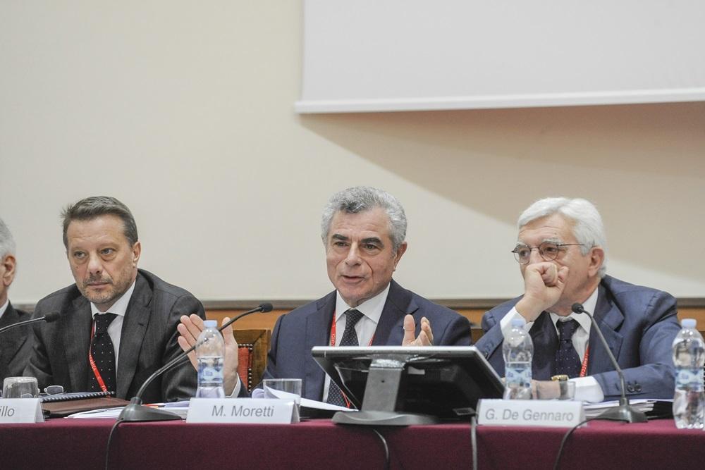 Gianpiero Cutillo, Mauro Moretti e Gianni De Gennaro