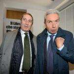 Gianmarco Chiocci e Antonio Padellaro
