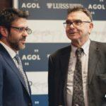 Paolo Boccardelli e Franco Fontana