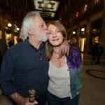 Sergio Staino con la moglie