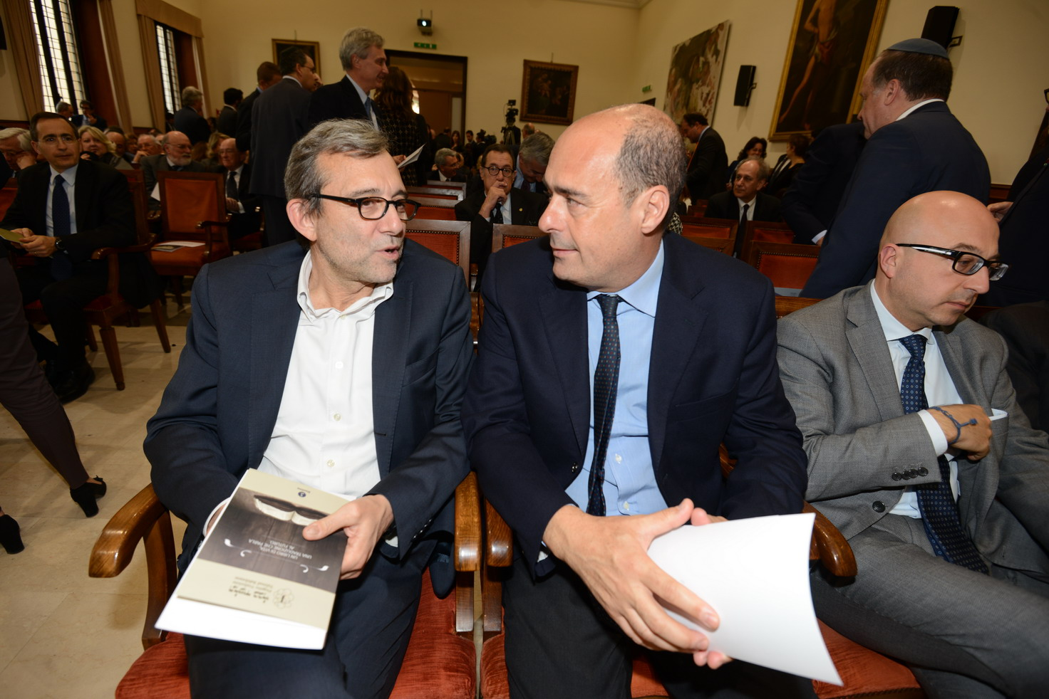 Roberto Giachetti e Nicola Zingaretti