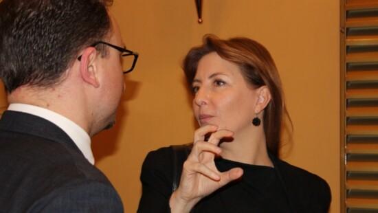 Stefano Mele e Barbara Carfagna