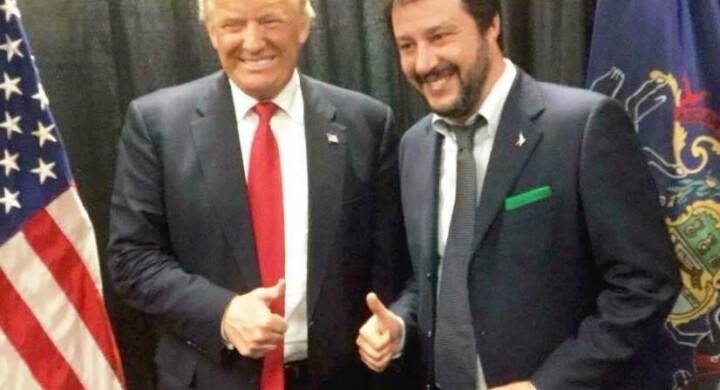 Matteo Salvini racconta come e quanto è filo Trump a Breitbart di Bannon