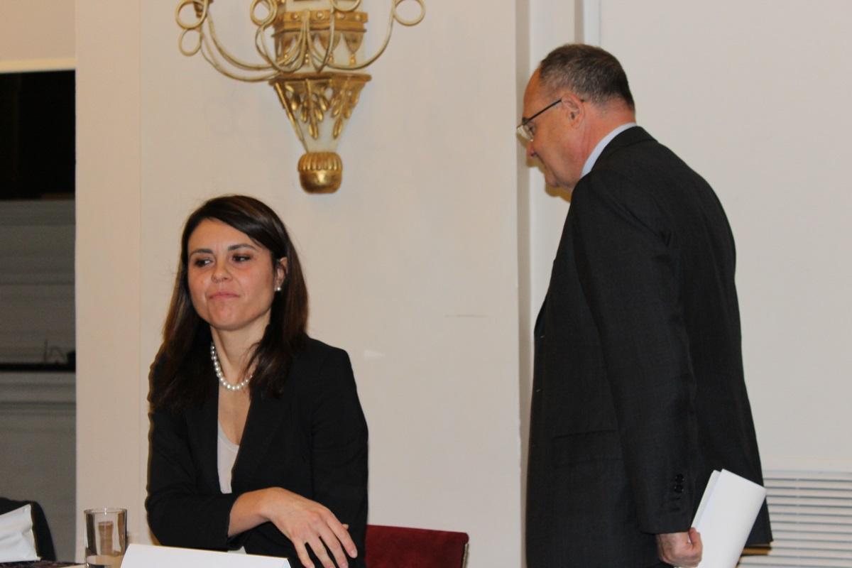 Simona Bonafè e Giuseppe Marinello